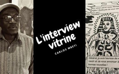 """L'interview vitrine de Carlos MBETI, auteur de la BD """"Le Pygmée et le Pharaon"""""""