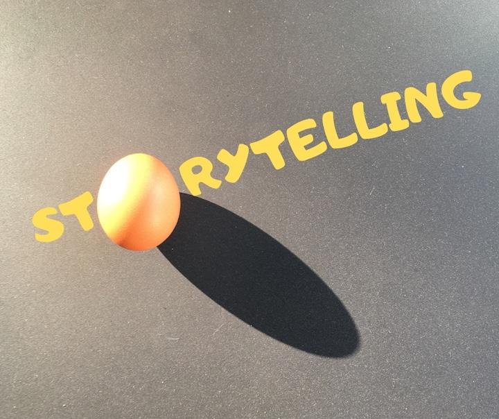 l'oeuf et le storytelling