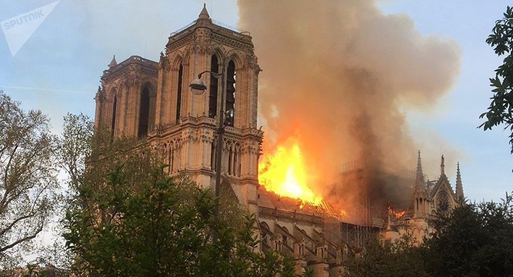 les risques d'incendie de Notre-Dame