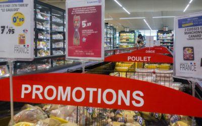 Promotions sur l'alimentaire
