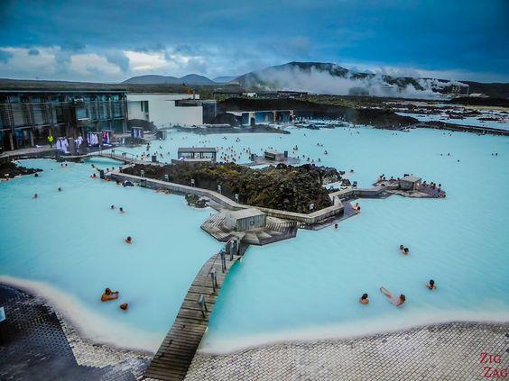 Islande - Le Lagon bleu