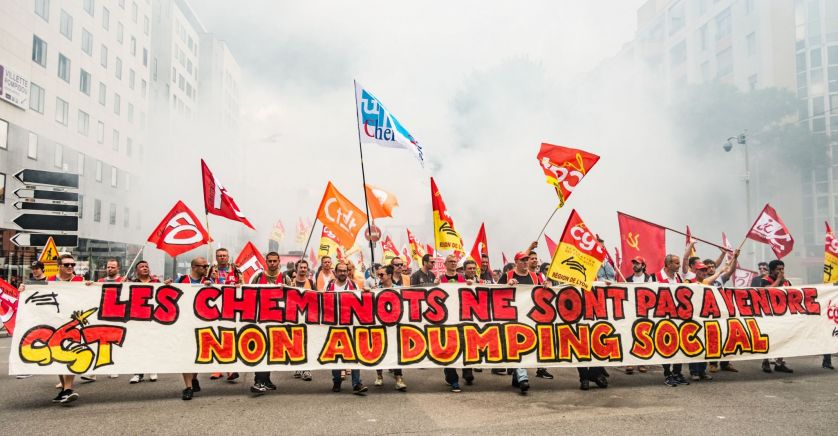"""""""Journée d'actions"""" à la SNCF"""