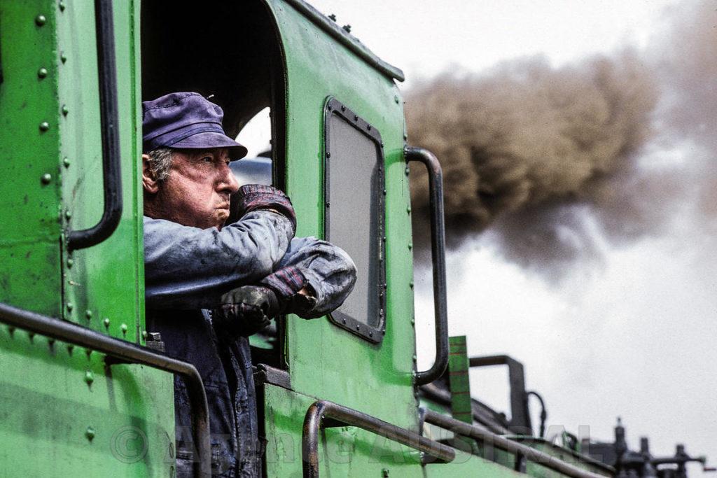Conducteur à la SNCF (avant)