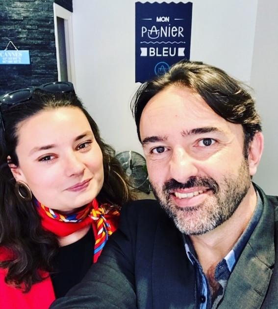 Olivier Roubin et Alice André