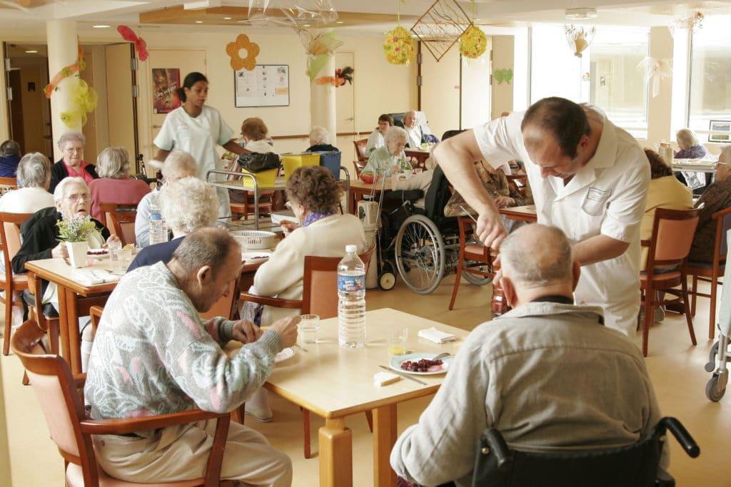 Pensionnaires en EHPAD